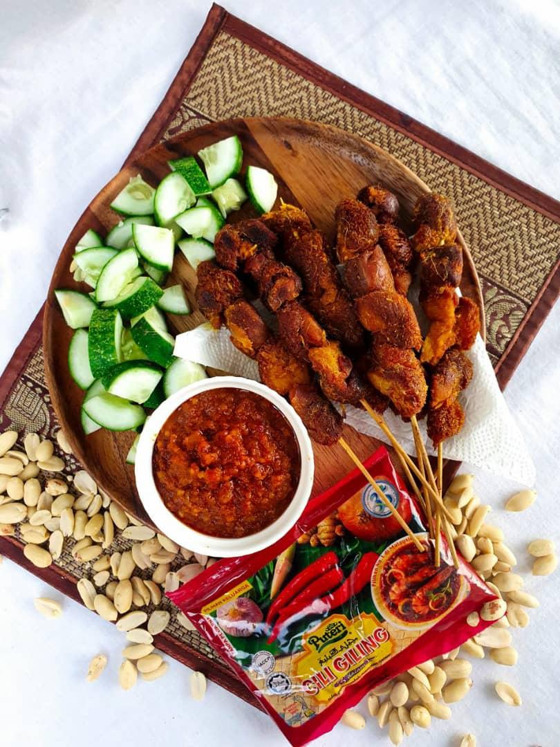 8. Satay Ayam